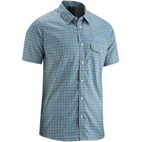 Gonso Orbe - Maillot manches courtes Homme - gris/bleu
